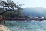 キラキラの厳島神社