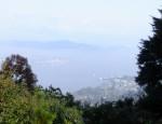 里見茶屋跡の景色