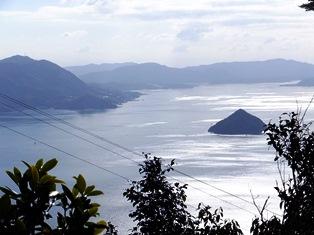 御山神社から見た景色