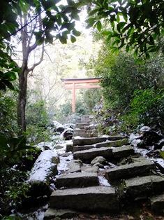 御山神社鳥居