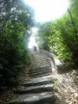 登山道出口