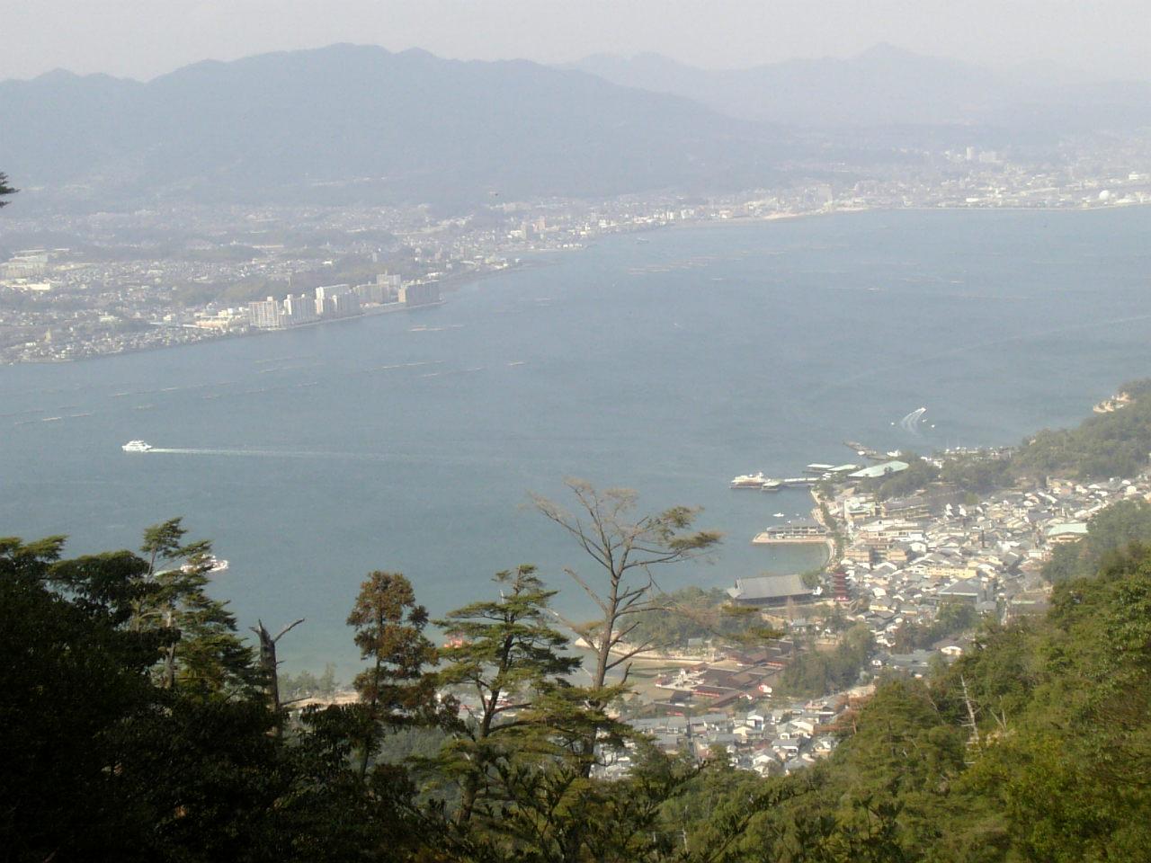 登山道の景色