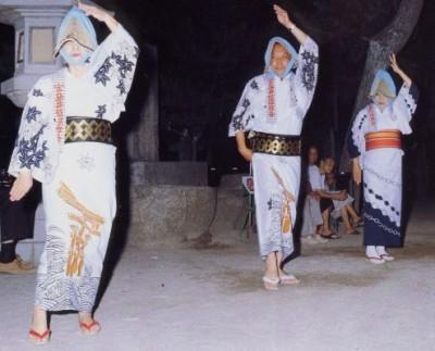 宮島踊り画像