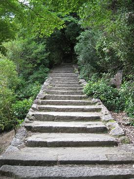 大聖院登り口階段
