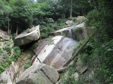 白糸の滝頂上