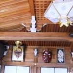 三鬼堂の天井