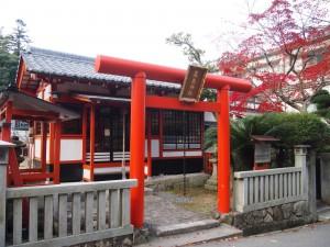 粟島神社紅葉