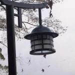 5 宮島デザインの街灯