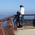 望遠鏡がありました