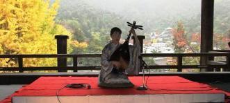 2010年11月千畳閣の演奏写真です